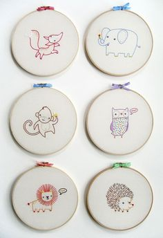 One thing that many parents find a necessity in a nursery is the alphabet. There must be thousands of versions of those 26 letters waiting to adorn your child's wall. Today I have a lovely embroidered example to show you. For the crafty amongst you the following alphabet comes sold as individual PDF patterns or …