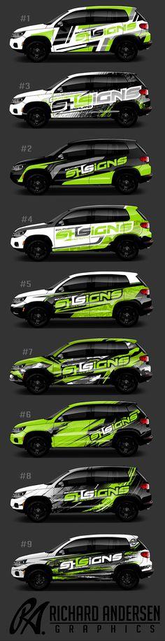 Richard Andersen Wrap designs http://ragraphics.carbonmade.com/