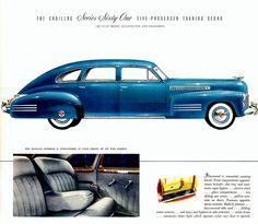 1941 Cadillac Series Sixty-One  Five-Passenger Touring Sedan