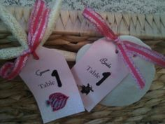 Guest seating cards