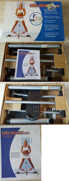 Thigh Exercisers 58106: Leg Magic Ultra Lower Body Exercise Equipment W Dvd, Owner S Manual Eating Plan -> BUY IT NOW ONLY: $125 on eBay!