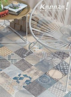 1000 id es sur sols carreaux en c ramique sur pinterest for Peut on peindre son carrelage au sol