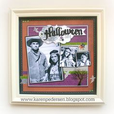 I love Close To My Heart's awesome Designed Decor Shadow Box Frame . It comes in Colonial White (shown above) and Black . Scrapbooking Ideas, Scrapbook Pages, Halloween Scrapbook, Paper Crafts, Diy Crafts, Shadow Box Frames, Close To My Heart, Fall Halloween, Layouts