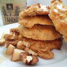 ŚMIETANKOWE CIASTKA JAGLANE ✔60g mąki jaglanej ✔jajko ✔10g oleju kokosowego ✔20g tahini ✔pół łyżeczki proszku do pieczenia ✔aromat śmietankowy ✔100g jabłka startego na grubych oczkach Wszystko zmiksować ze sobą i do piekarnika nagrzanego do 180* na 30min☺ #fit #cookies #ciastka #ciastki #wiemcojem #diet #dieting #redukcja #masa #macros #gymgirl #muscles #traindirty #loveyourself #abs #squat  #goodmorning #sweet #chocolate #holidays #fitfamily #protein #bodybuilding #food #healthy #l4l…