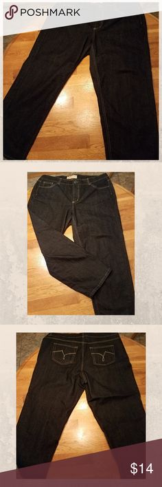 30b039b96d1 JMS stretch Classic Jeans Dark Blue 20 short New without tags NO flaws Dark  Indigo Blue · Just My SizeJust ...