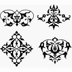 Turkish ornament pattern 3