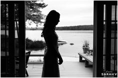 Waterside Bride! Bridgton, Maine Wedding Tarry-A-While Resort // I AM SARAH V Photography
