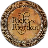 RICK RIORDAN - Such an amazing author. Love his books Percy Jackson is one of my most favorite series ever.