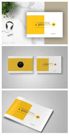 US Letter Graphic Design Portfolio Template This is 48 page minimal brochure template is for designers working on product graphic design portfolios interior design catalogues, product catalogues, and agency based projects. Just drop in your own pict Portfolio Design Layouts, Design Portfolios, Product Design Portfolio, Online Portfolio Design, Powerpoint Design, Keynote Design, Resume Design, Portfolio Covers, Portfolio Book