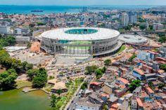 Upea Fonte Novan stadion ! Salvador, Bahia, Brasil