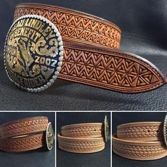 Awesome geometric tooling from tannercustomleather.com -SR