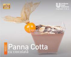 PANNA COTTA CU CIOCOLATA Panna Cotta, Food, Dulce De Leche, Eten, Meals, Diet