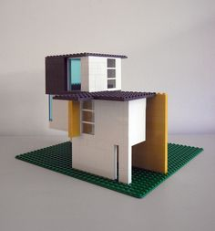 my favorite entry in the lego house competition - Slot House