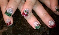 Nail Art  Christmas Glitter