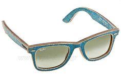 Γυαλια Ηλιου  Rayban 2140 Wayfarer 11644M DENIM WAYFARER light blue Τιμή: 160,00 €