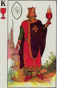 Knapp-Hall Tarot ► King of Cups