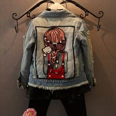 Cheap coat girl, Buy Quality girls outerwear directly from China girls jacket Suppliers: new autumn and spring children clothing child clothes baby girl outerwear coat girl's jackets denim kids tops jeans wear Fashion Kids, Girls Fashion Clothes, Trendy Fashion, Korean Fashion, Style Fashion, Top Jean, Jean 1, Baby Outfits, Kids Outfits