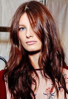 Georgeous rich red-brown hair color
