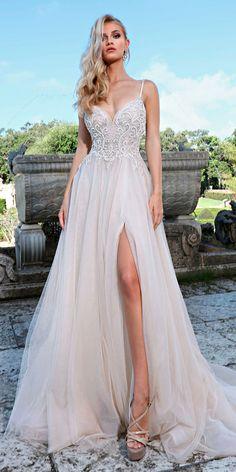 Totally Unique Fashion Forward Wedding Dresses ❤ See more: http://www.weddingforward.com/fashion-forward-wedding-dresses/ #weddingforward #bride #bridal #wedding