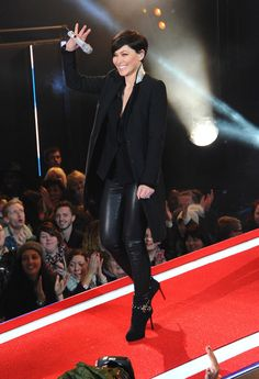Emma Willis presents Celebrity Big Brother at Elstree Studios on January 7, 2015 in Borehamwood, England.