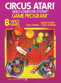 Atari 2600 CIRCUS ATARI - CX2630, 1978, Instruction booklet and '81 Rev D catalog included, both NM. Box in excellent condition. $12