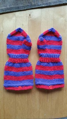 Käsin tehty työ: Pikkulapsen tumput + OHJE Knit Crochet, Crochet Hats, Little Boys, Knitted Hats, Barn, Knitting, Children, Knits, Crocheting