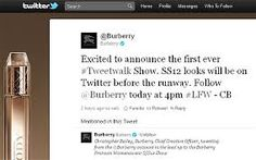 This is an example of Burberrys page promoting an event. They use hashtags so other users that could be potential customers can see it. I could do something similar to this for my launch.