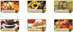 Yankee Candle labels