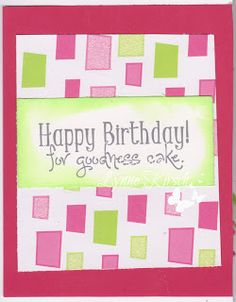 Her Craftiness: Happy Birthday for Goodness Cake with New Challenge with 613 Avenue Create