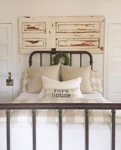 Farmhouse Bedroom | Little White House Blog