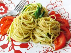 Curly Girl Kitchen: Pasta with Zucchini, Lemon and Parmesan
