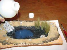 Réalisation d'un petit étang