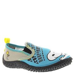 Peanuts Snoopy Boys Aqua Socks Water Shoes (Toddler/Little Kid) Aqua Socks, Peanuts Snoopy, Water Shoes, Cute Baby Clothes, Boys Shoes, Charlie Brown, Style Guides, Cute Babies, Teal