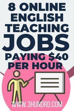 Make Money Online, How To Make Money, Make Money From Home, Work From Home Canada, Work From Home Jobs, Teaching Jobs, Teaching English, English Language, Creating Wealth