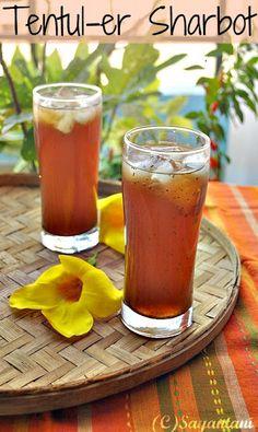A Homemaker's Diary: Purono Tentul er Sharbot (Tamarind Drink)