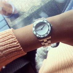 Michael Kors 'Bel Aire' michael kors watch Marc by Marc Jacobs Watch Michael Kors Betsey Johnson Cutout Fit & Flare Dress Marc Jacobs Watch, Jeweled Shoes, Girls Best Friend, Fashion Pictures, Michael Kors Watch, Passion For Fashion, Watches For Men, Fashion Accessories, Jewels