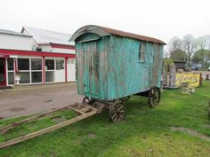 See the latest eSalvo Weekly Gypsy Caravan, Gypsy Wagon, Eco Buildings, Metal Shed, Shepherds Hut, English Countryside, Architectural Salvage, Wheelbarrow, Old Photos