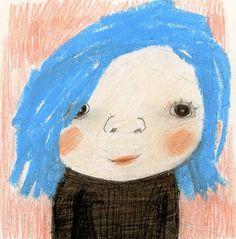 manon gauthier: Bleue
