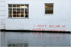 i don´t believe in global warming