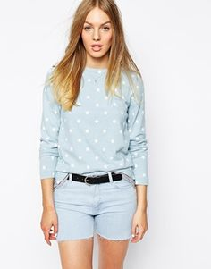 MiH+Jeans+Star+Print+Top