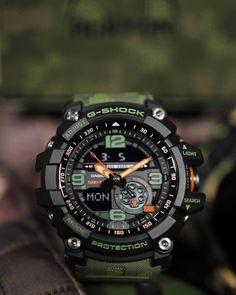 Collectible: Casio G-Shock X Burton Mudmaster Limited Edition Anniversary. G Shock Watches Mens, Best Watches For Men, Sport Watches, G Shock Limited Edition, Limited Edition Watches, Tag Heuer, Rolex, G Shock Mudmaster, Tactical Watch