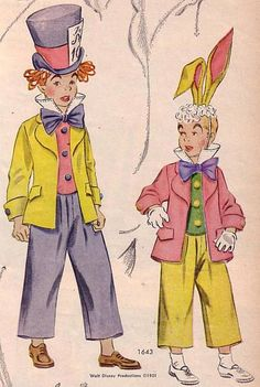 New photos on this wiki - Vintage Sewing Patterns, Sewing Patterns For Kids, Mccalls Patterns, Sewing For Kids, Vintage Sewing Patterns, Eve Costume, Mad Hatter Costumes, Masquerade Costumes, Vintage Halloween Decorations, Costume Patterns