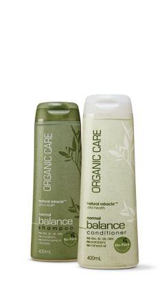 organic shampoo and conditioner