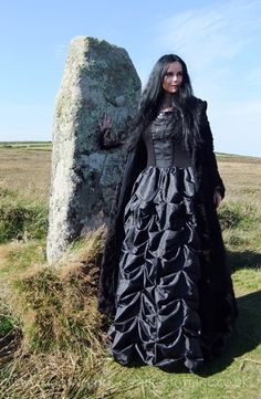 Furrywydan Coat (and Selvaria Gown!) by Moonmaiden Gothic Clothing UK