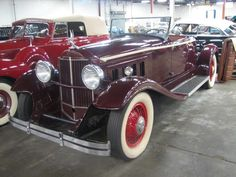 1931 Packard Boat Tail Roadster |