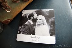 Folded Square Thank You Cards