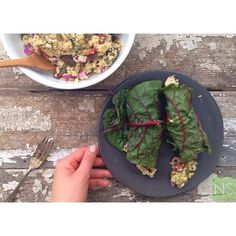 Introducing one of my favorite recipes I've been enjoying for years, I finally put it up on the blog to share with you all! Mediterranean Millet Salad Wraps, SO delicious for a quick lunch, dinner, or even a side dish. {recipe on NS}_______________________________________ b l o g // NutritionStripped.com s e r v i c e s // nutrition coaching available via Skype/telephone US & international