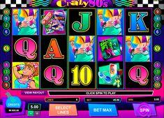 Pelaa Crazy 80s online kasino kolikkopeli 9 Voittolinjalla. Hit onnekas, ja sinä voit voittaa cashback voitto yhdessä bonus, tehden online Microgaming mahdollisuus, että on kannattavaa. Kuten elämässä, ennen kuin sinä valitset online kasino tai Microgaming verkkosivuilla ja anna tapana on tärkeää antaa sille koekäyttö.