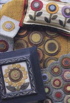 Wool Circle Pincushion