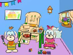 Wir haben uns mal zeichnerisch kreativ an einer der beliebtesten Holz Kinderküchen ever - der Hape Wanju - ausgetobt ;) Hier geht's zum Vergleich zum Original: http://www.kinderkuechekaufen.de/hape-kueche-wanju-und-alternativen/